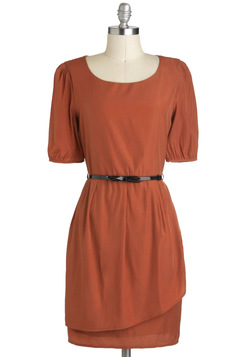 Sincere-rust Gratitude Dress