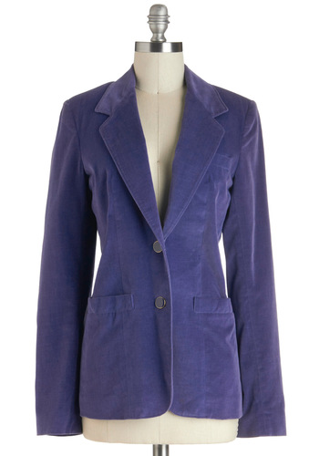 Vintage Lookin' Grape Blazer