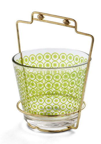 Vintage Put It On the Lime Ice Bucket