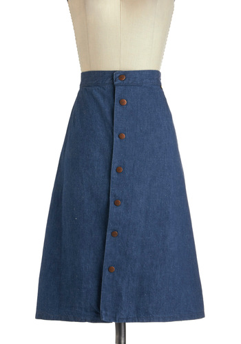 Vintage Everyday of My Dreams Skirt