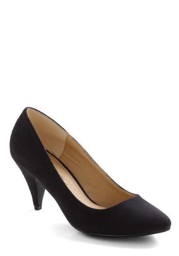 Doo Bee Doo Bee Shoe Heel in Black