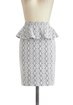 Lace You to Work Skirt