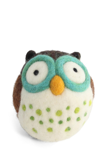 Wool You Be My Friend DIY Owl Kit - Brown, Handmade & DIY, Owls
