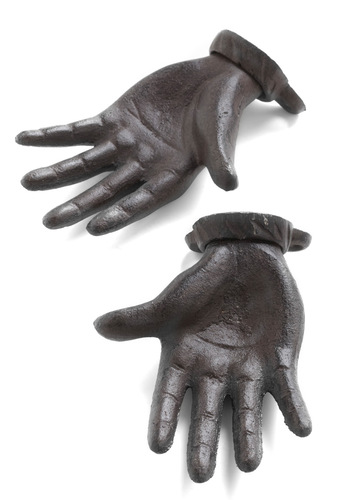 Gimme a Hand Wall Hook Set - Brown, Urban, Statement, Better, Halloween, Top Rated
