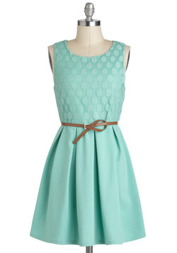 Refine Mint Dress