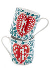 Letter Together Mug Set - Blue, Red, Fairytale