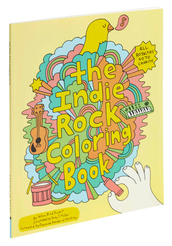 Indie Rock Coloring Book - Eco-Friendly