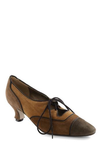 Vintage Spice Aisle Style Heel