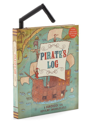 Pirate's Log Journal by Chronicle Books - Multi