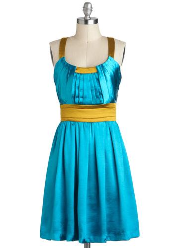 Head to Topaz Dress