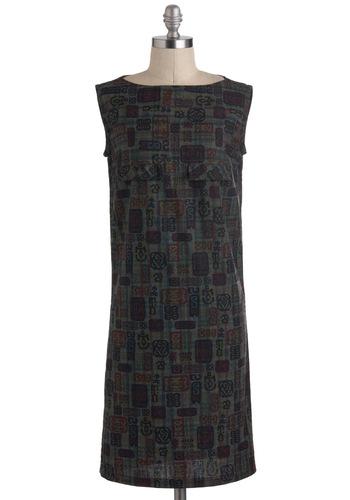 Vintage Symbology Whiz Dress