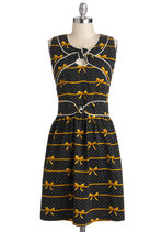 Knot Too Late Dress in Bows