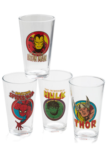 Pour My Hero Tumbler Set - Multi, Vintage Inspired, Quirky, Good