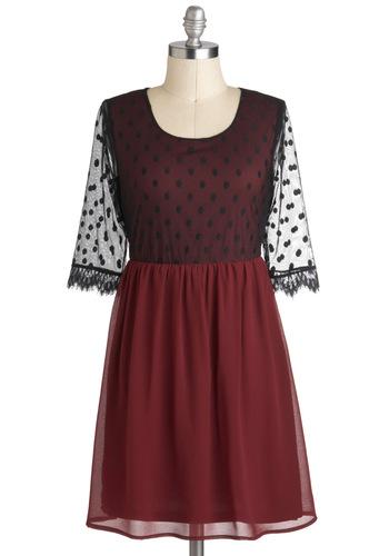 Mulberry Muliebrity Dress