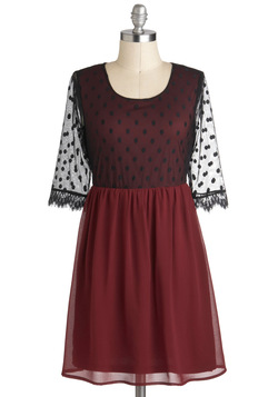 Mulberry Muliebrity Dress