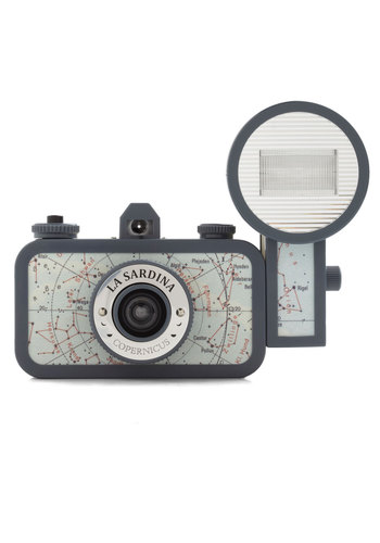 La Sardina Lomography Camera in Copernicus by Lomography - Blue, Vintage Inspired, Travel, Nautical, Graduation