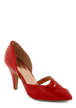 You Don't D'Orsay Heel in Rouge