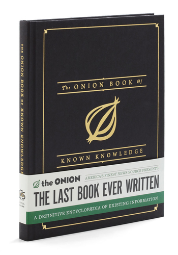 The Onion Book of Known Knowledge - Multi, Vintage Inspired, Quirky
