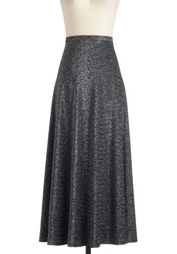 Vintage Starlight Espresso Skirt