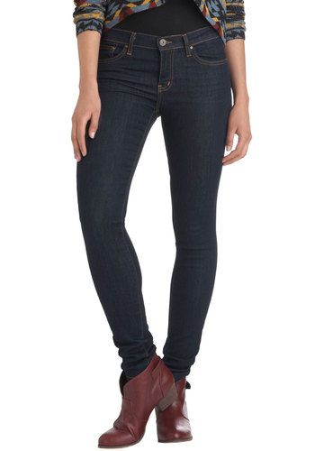Book Shop Stop Jeans - Denim, Blue, Solid, Casual, Skinny, Winter, Fall, Top Rated