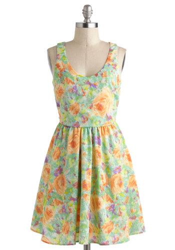 First Impressionist Dress