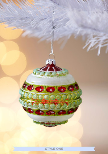 Most Wonderful Ornament by One Hundred 80 Degrees - Multi, Dorm Decor, Vintage Inspired, Holiday