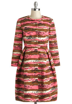 Orla Kiely Visions of Vistas Coat