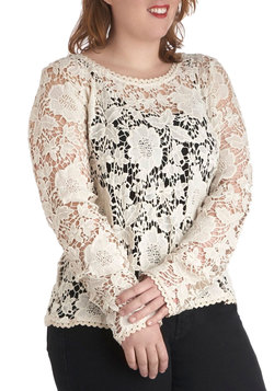 Best in Snow Top in Plus Size
