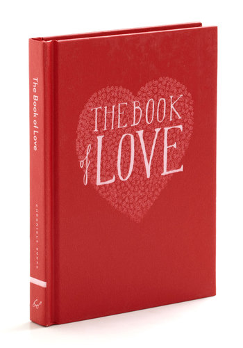 The Book of Love by Chronicle Books - Multi, Vintage Inspired, Dorm Decor, Fairytale, Good, Valentine's, Wedding