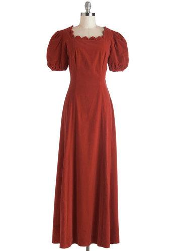 Vintage Orchard Gala Dress