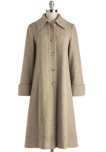 Vintage Snowy Stroll Coat