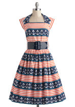 Anchors A-Sway Dress