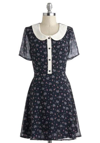 Hoot and Collar Dress