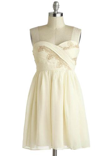 Vanilla Eclair Dress