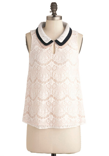 Lace Share Top