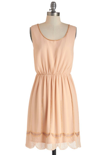 Laguna Peach Dress