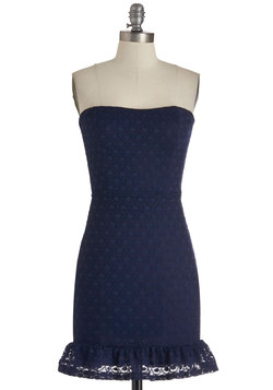 Navy In My Life Dress