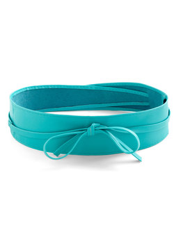 Sash Samba Belt in Teal