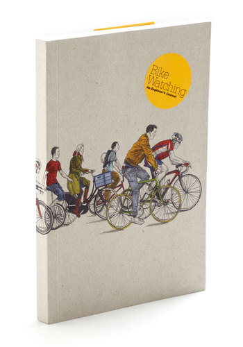 Bike Watching Journal by Chronicle Books - Multi, Quirky