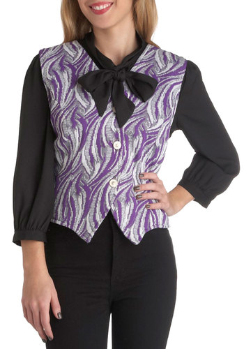 Vintage Swirl About Town Vest