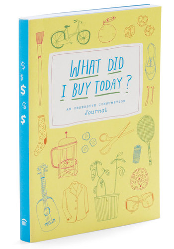 What Did I Buy Today? by Chronicle Books - Multi, Quirky, Good, Under $20, Gals