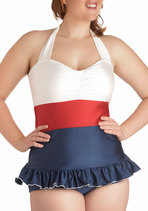 Pelagic Gal Two Piece in Plus Size from ModCloth