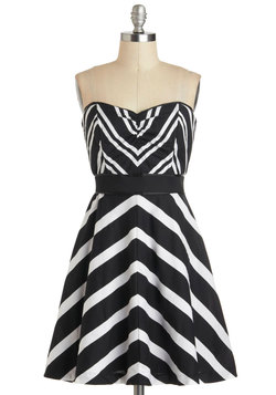 Chevron the Dance Floor Dress