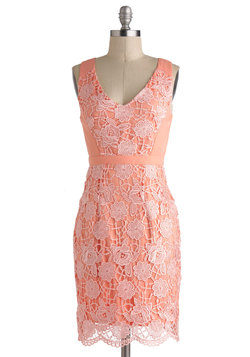 Peaches and Gleam Dress