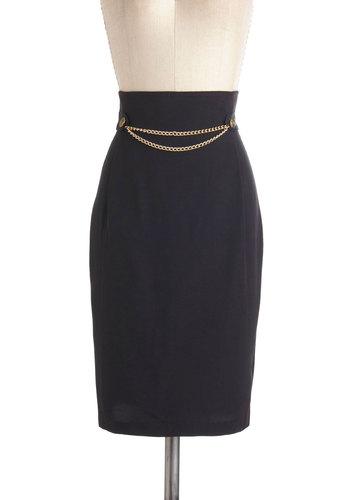 Vintage Downtown Dazzle Skirt