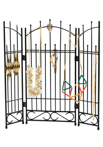 In Gate Demand Jewelry Holder - Black, Vintage Inspired