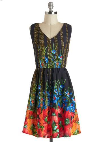 Mesmeric Midnight Dress