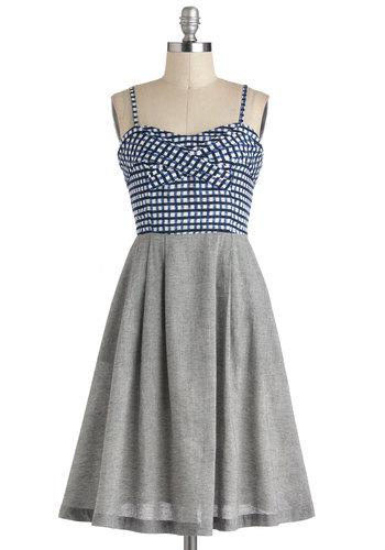 Tic-Tac-Flow Dress