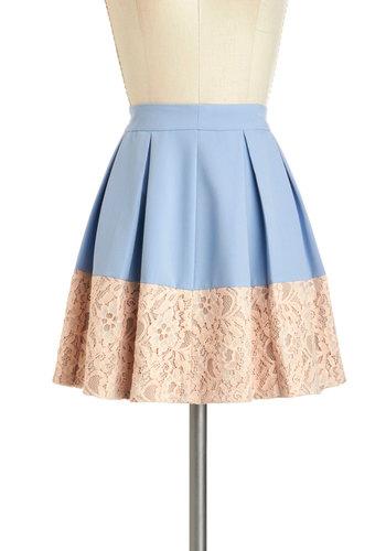 Sky-Hyacinth Skirt