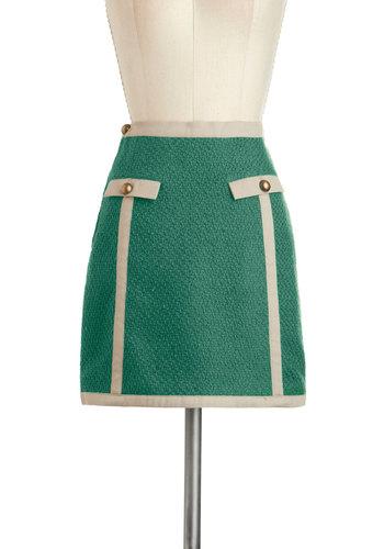 The Class is Always Greener Skirt